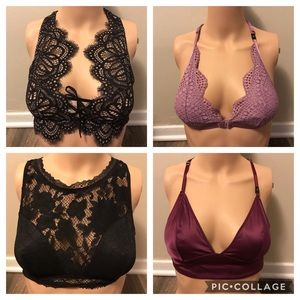 NEW VS 4 BRALETTES VICTORIA SECRET
